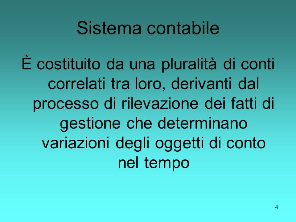 Sistema contabile
