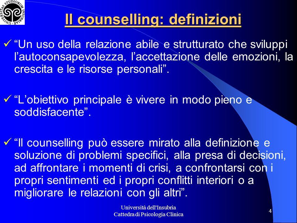 Il counselling: definizioni