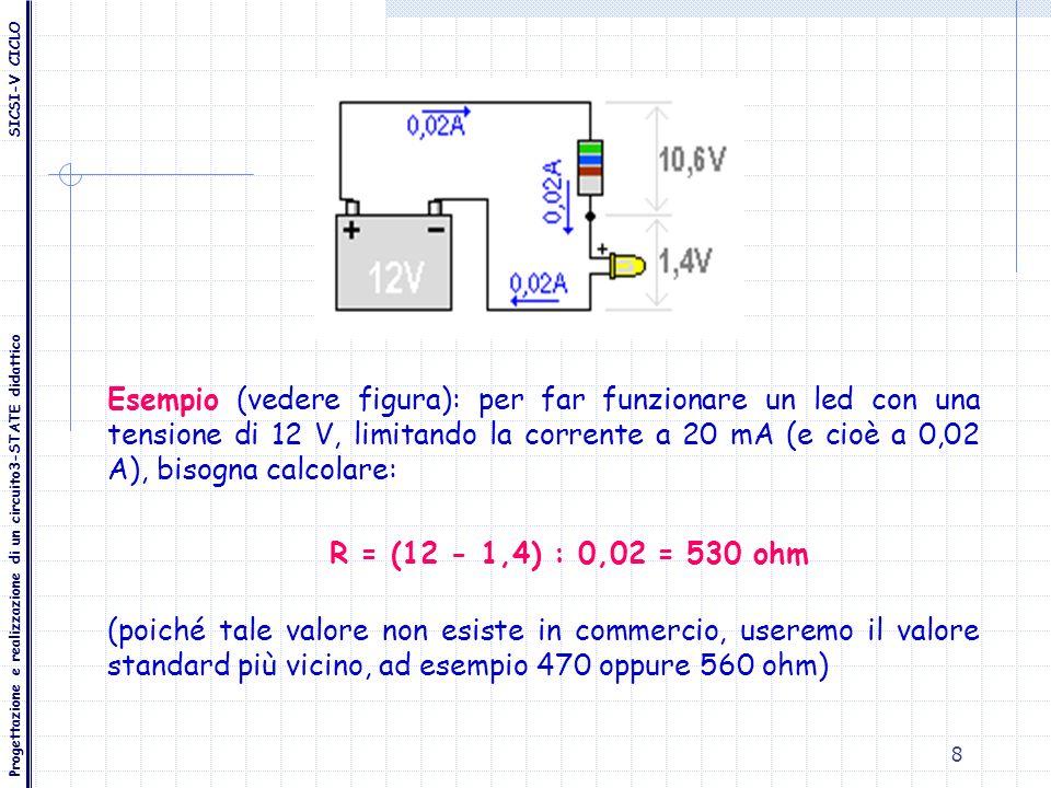 Progettazione e realizzazione di un circuito3-STATE didattico SICSI-V CICLO