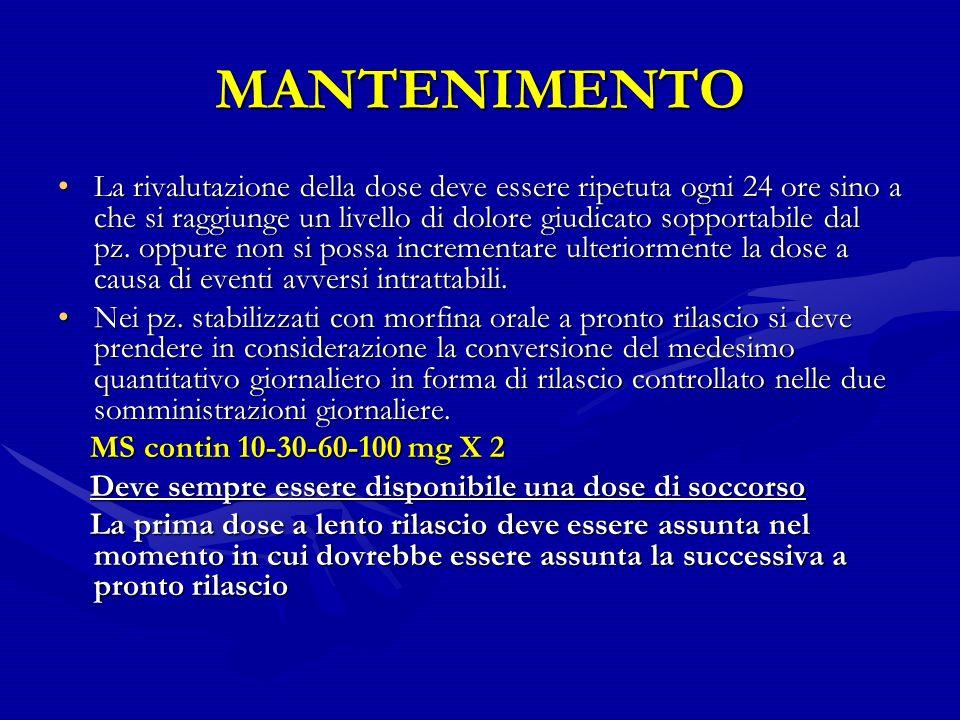 MANTENIMENTO