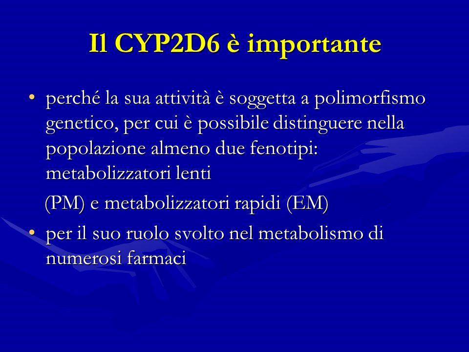 Il CYP2D6 è importante