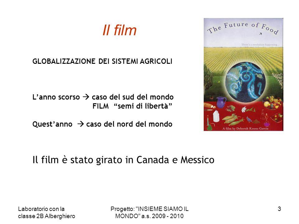 Progetto: INSIEME SIAMO IL MONDO a.s. 2009 - 2010