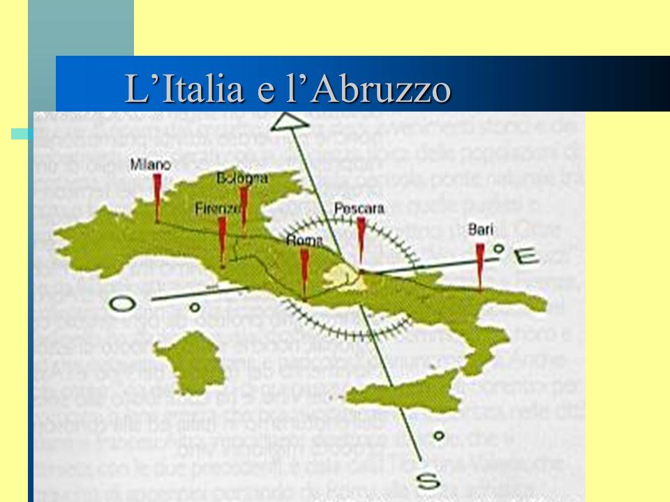 L'Italia e l'Abruzzo