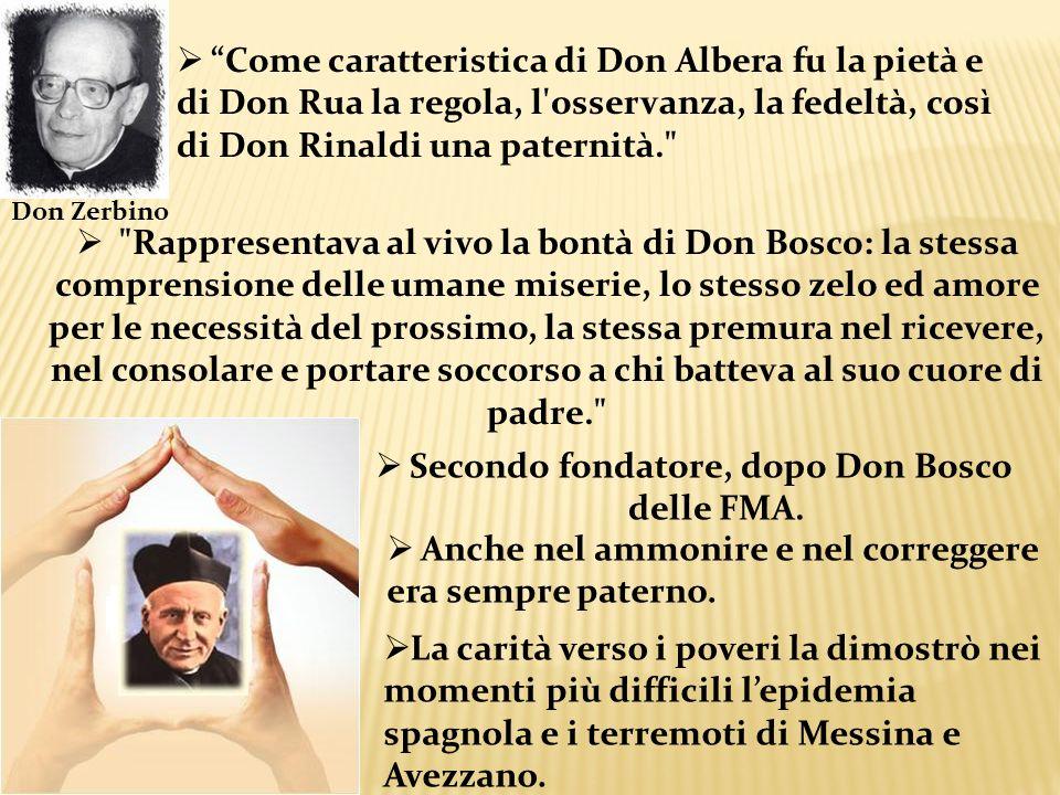 Secondo fondatore, dopo Don Bosco delle FMA.