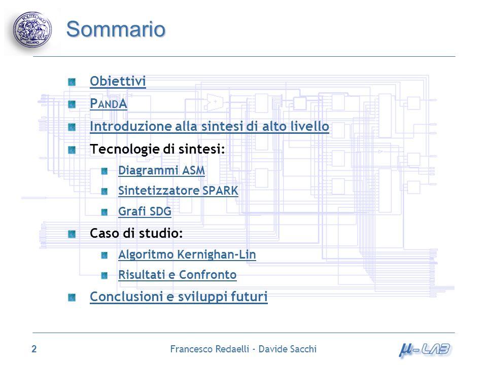 Francesco Redaelli - Davide Sacchi