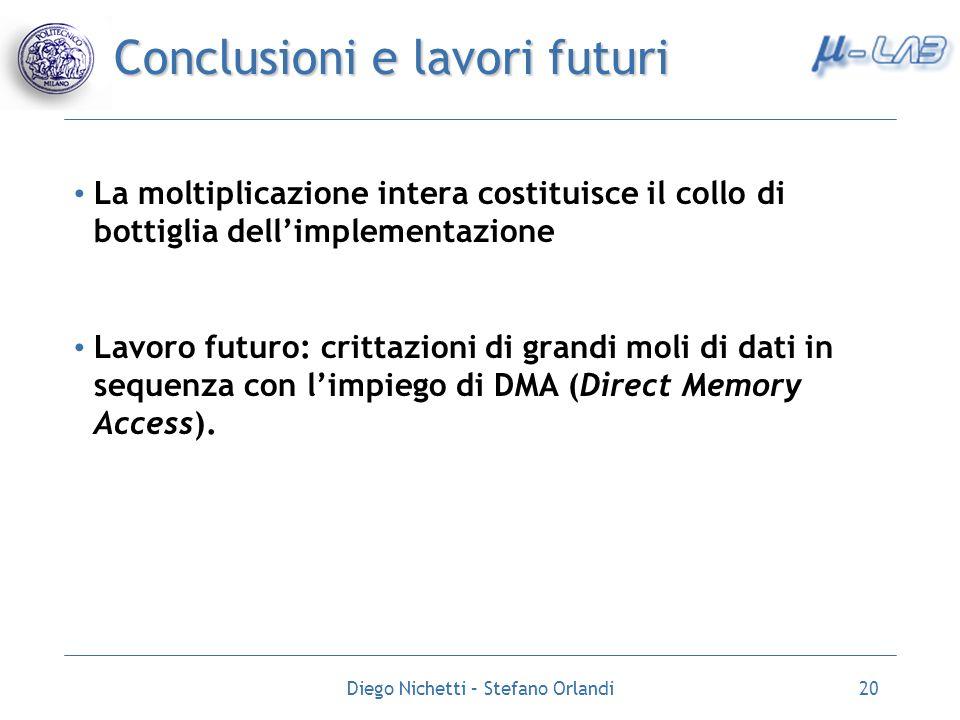 Conclusioni e lavori futuri