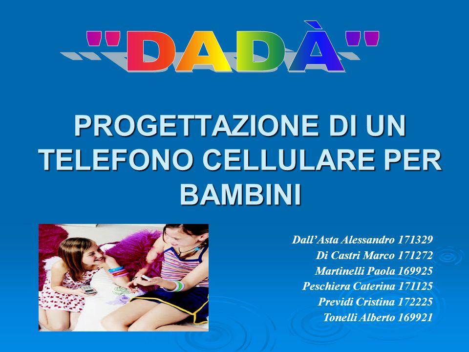 PROGETTAZIONE DI UN TELEFONO CELLULARE PER BAMBINI