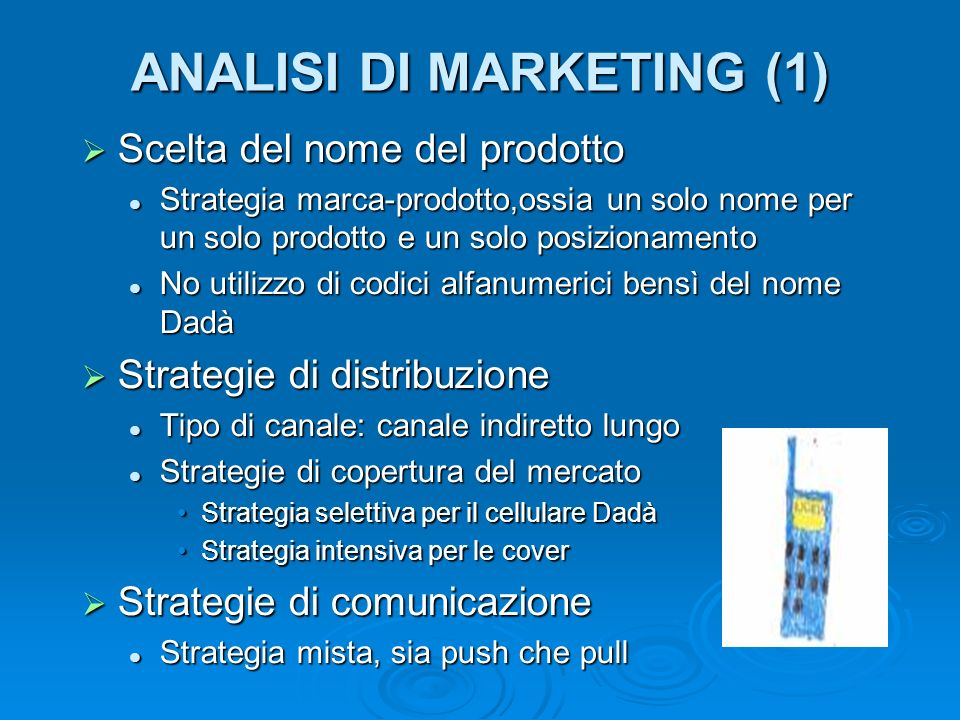 ANALISI DI MARKETING (1)