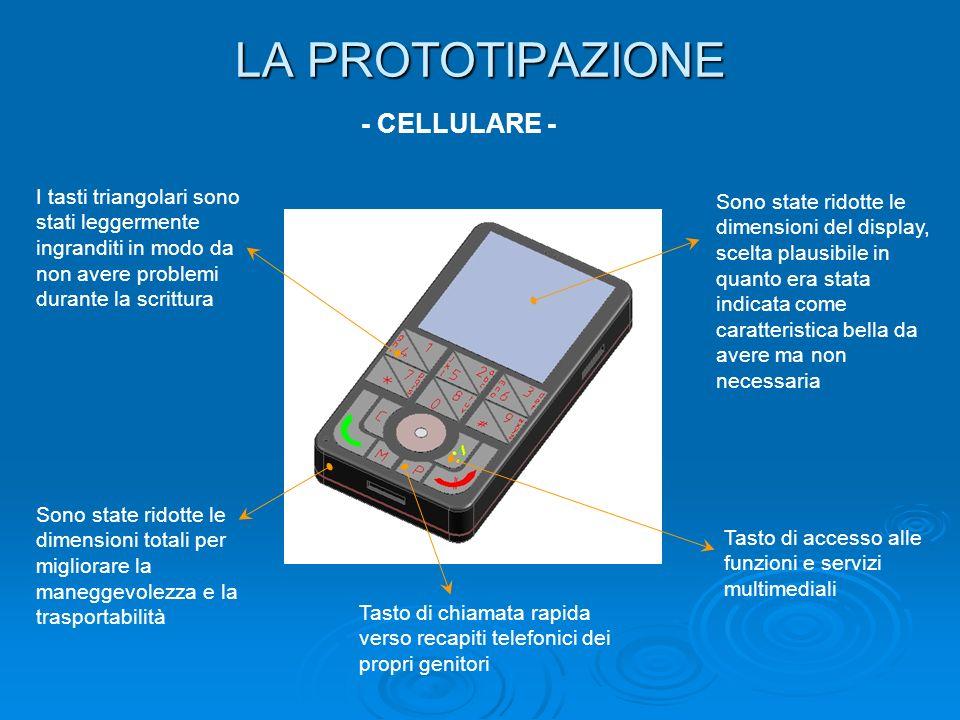 LA PROTOTIPAZIONE - CELLULARE -