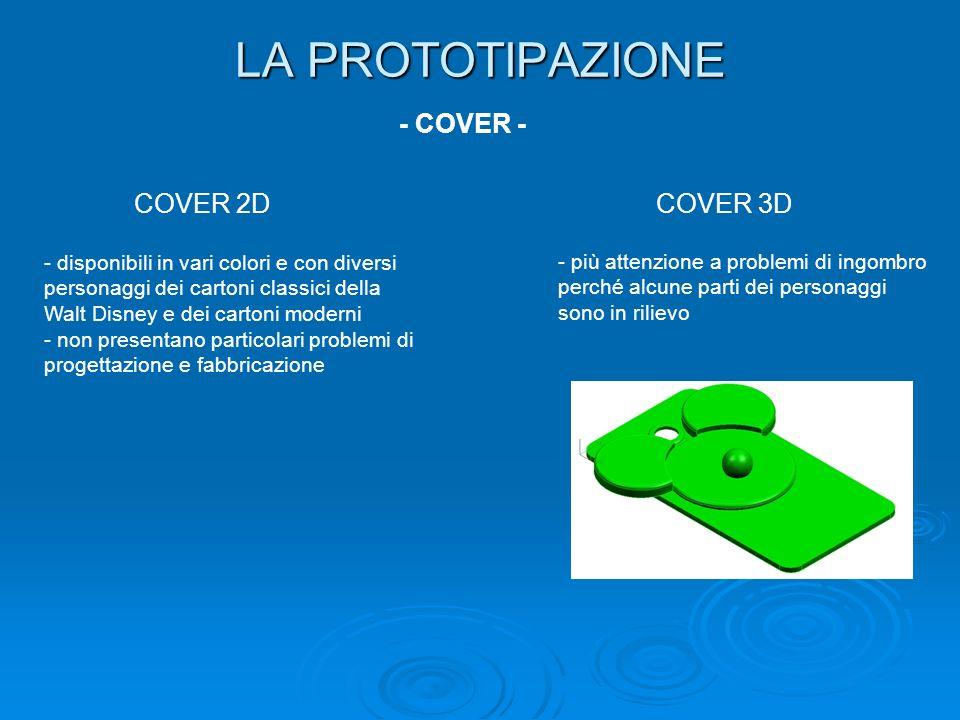 LA PROTOTIPAZIONE - COVER - COVER 2D COVER 3D