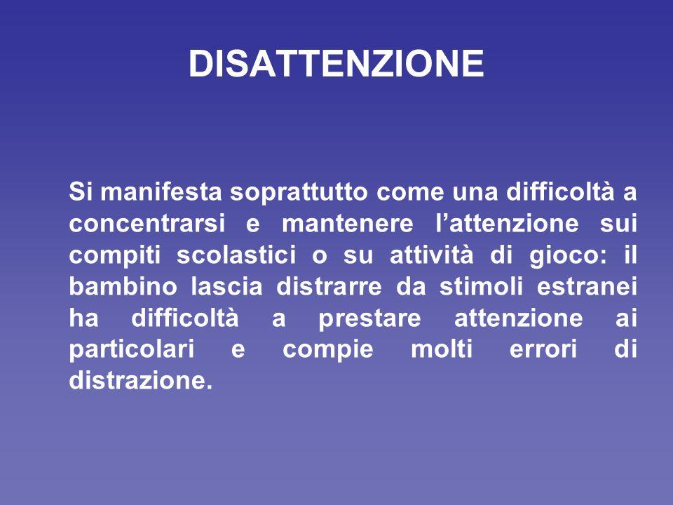 DISATTENZIONE