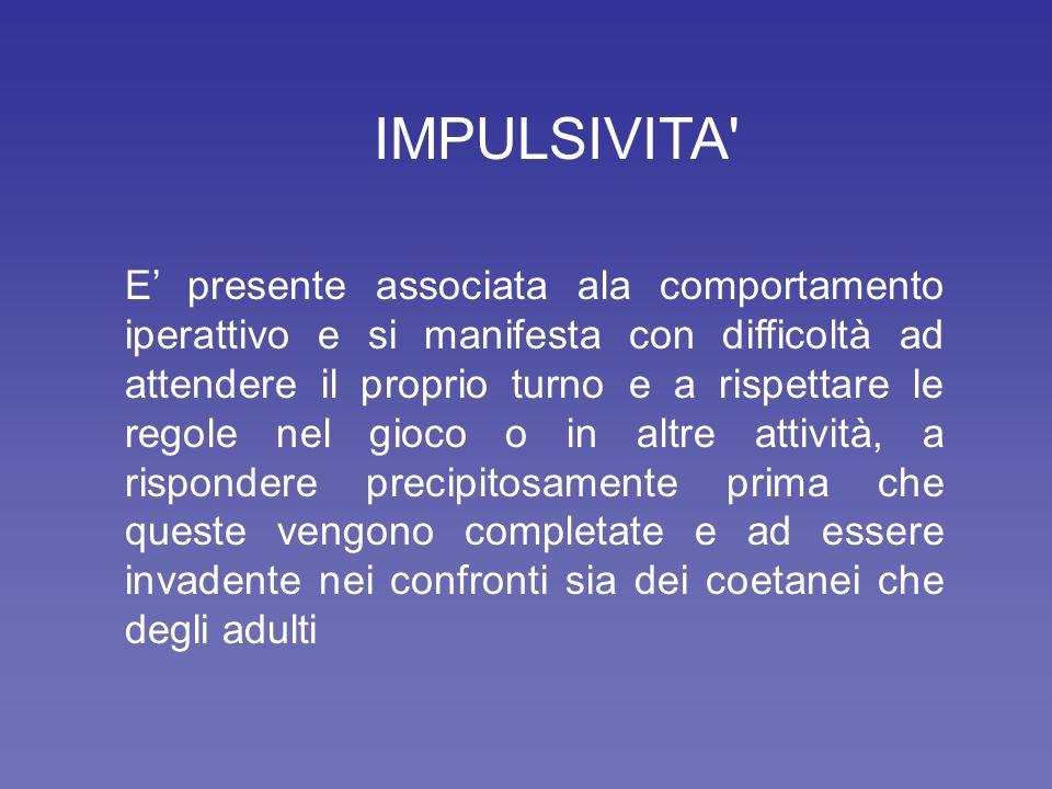 IMPULSIVITA