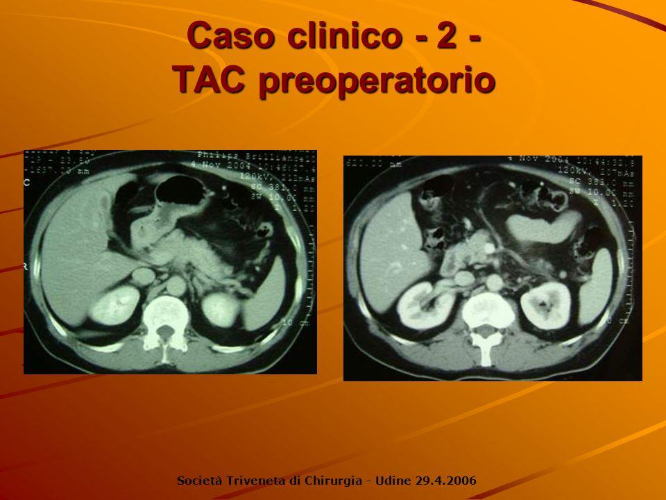 Caso clinico - 2 - TAC preoperatorio
