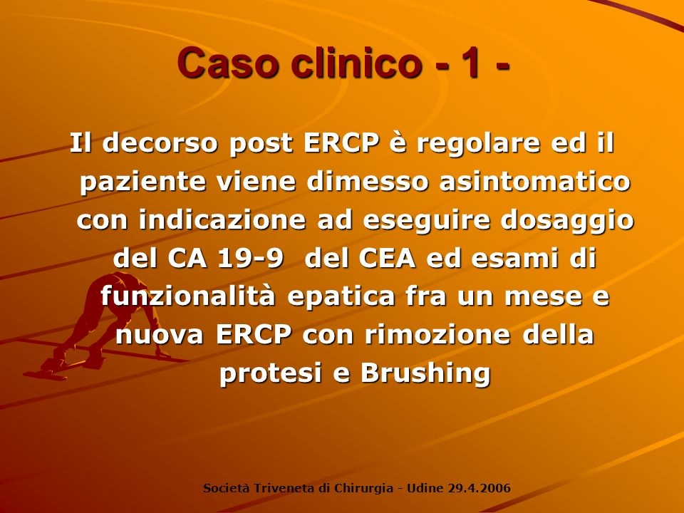 Caso clinico - 1 -