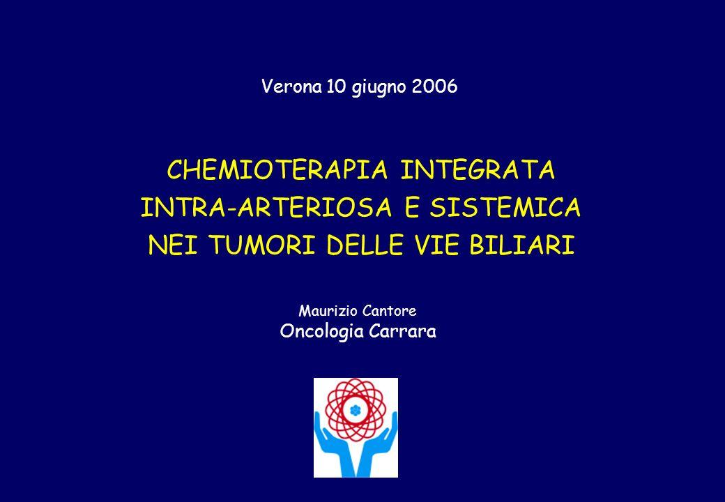 CHEMIOTERAPIA INTEGRATA INTRA-ARTERIOSA E SISTEMICA