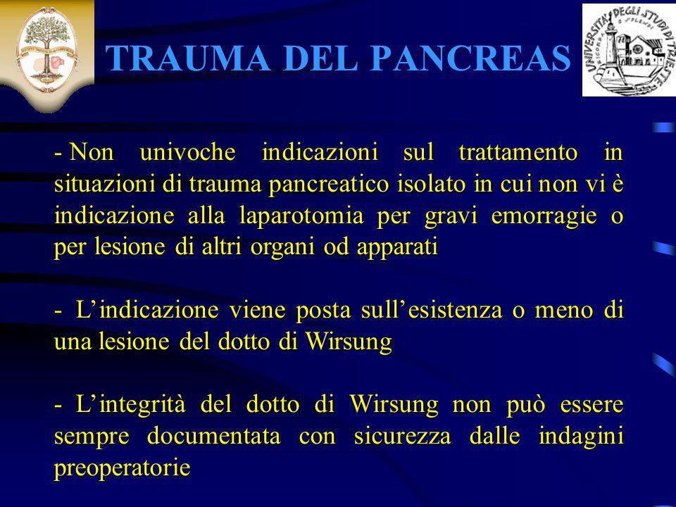 TRAUMA DEL PANCREAS