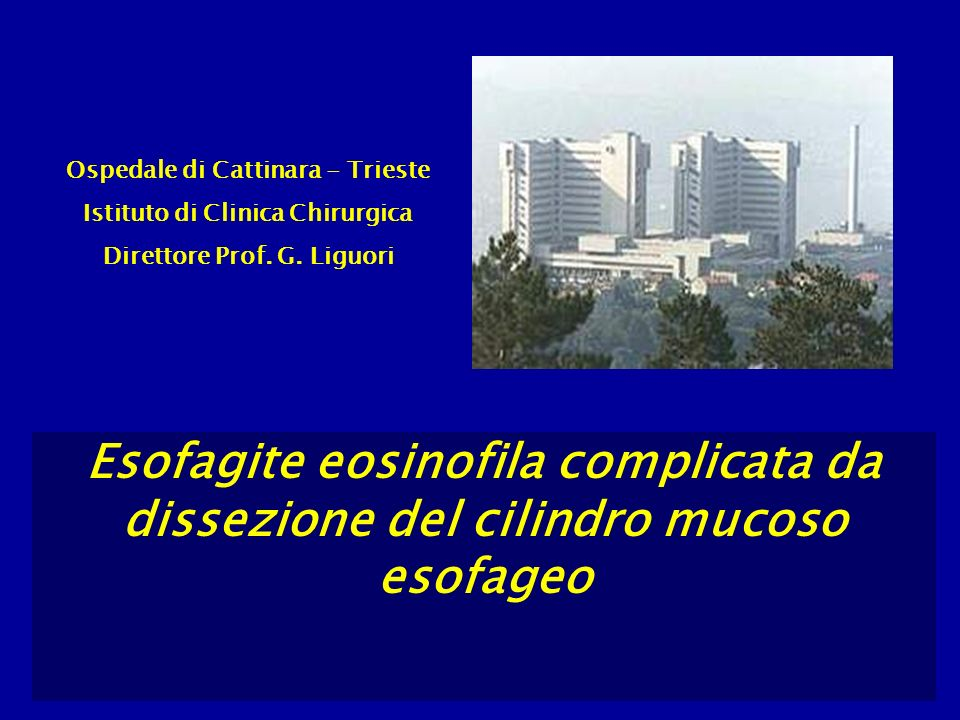 Ospedale di Cattinara - Trieste
