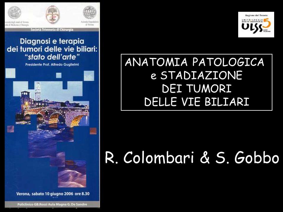 R. Colombari & S. Gobbo ANATOMIA PATOLOGICA e STADIAZIONE DEI TUMORI