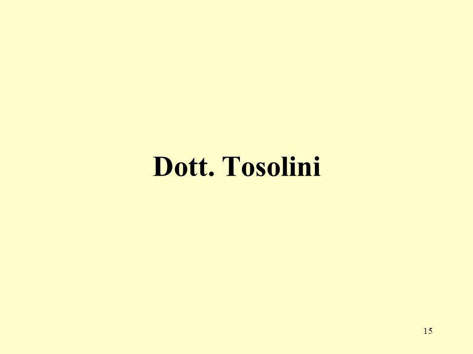 Dott. Tosolini