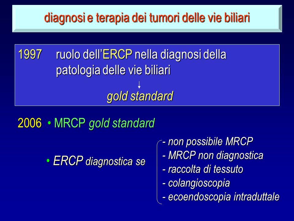 diagnosi e terapia dei tumori delle vie biliari