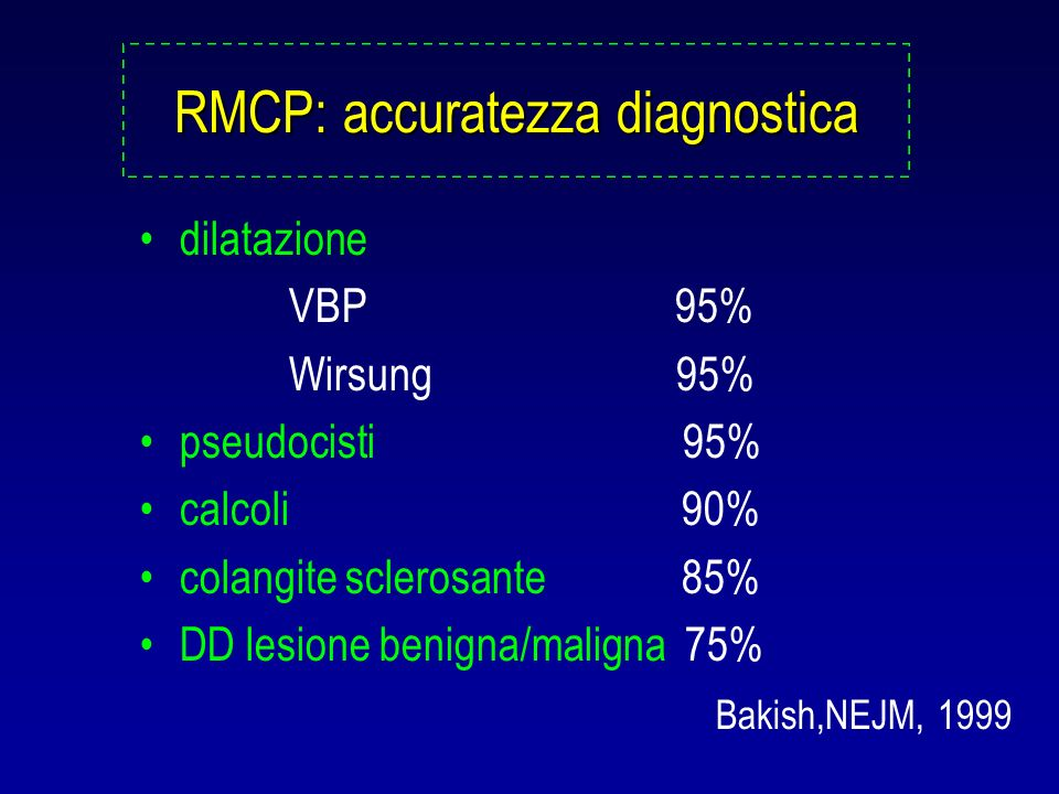 RMCP: accuratezza diagnostica