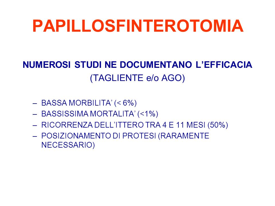 PAPILLOSFINTEROTOMIA