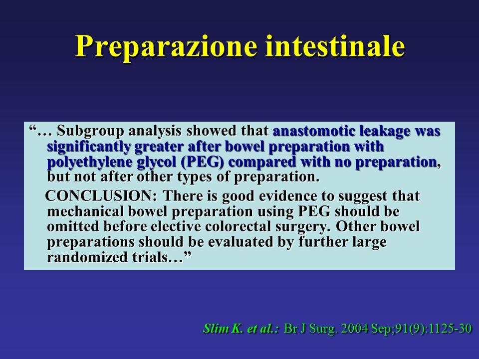 Preparazione intestinale