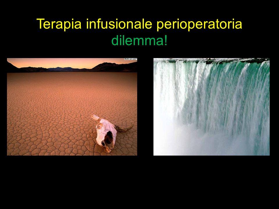 Terapia infusionale perioperatoria