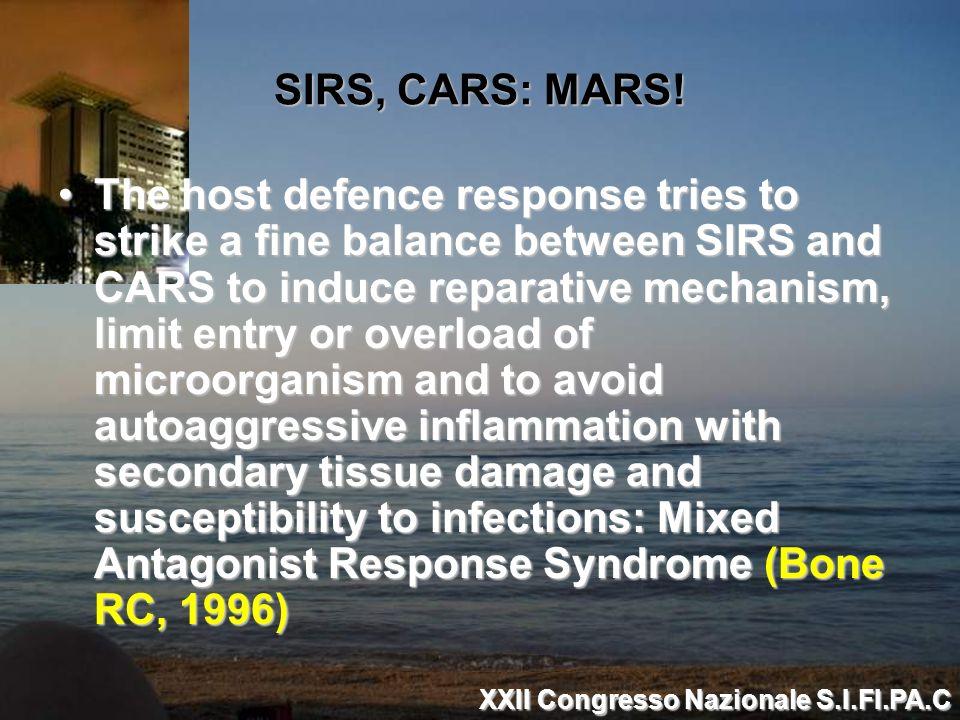 SIRS, CARS: MARS!