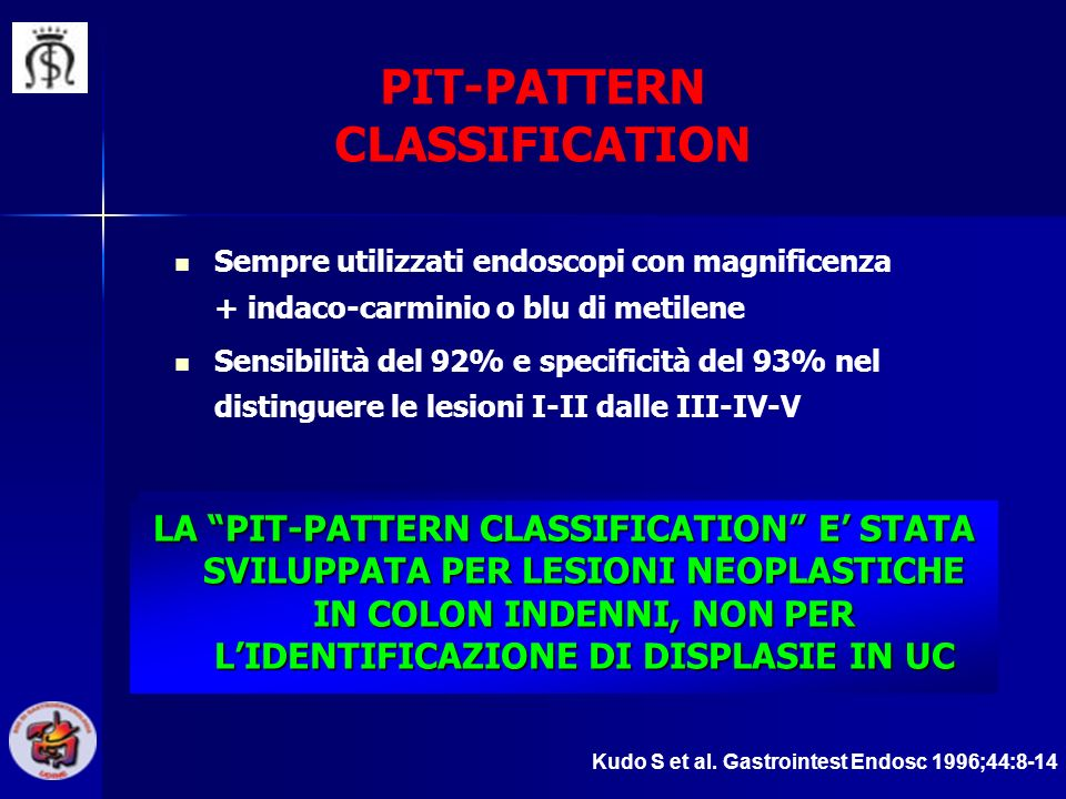 PIT-PATTERN CLASSIFICATION
