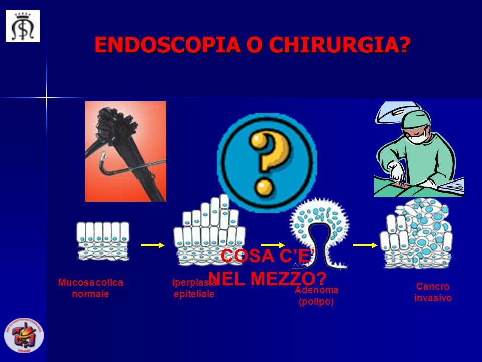 ENDOSCOPIA O CHIRURGIA