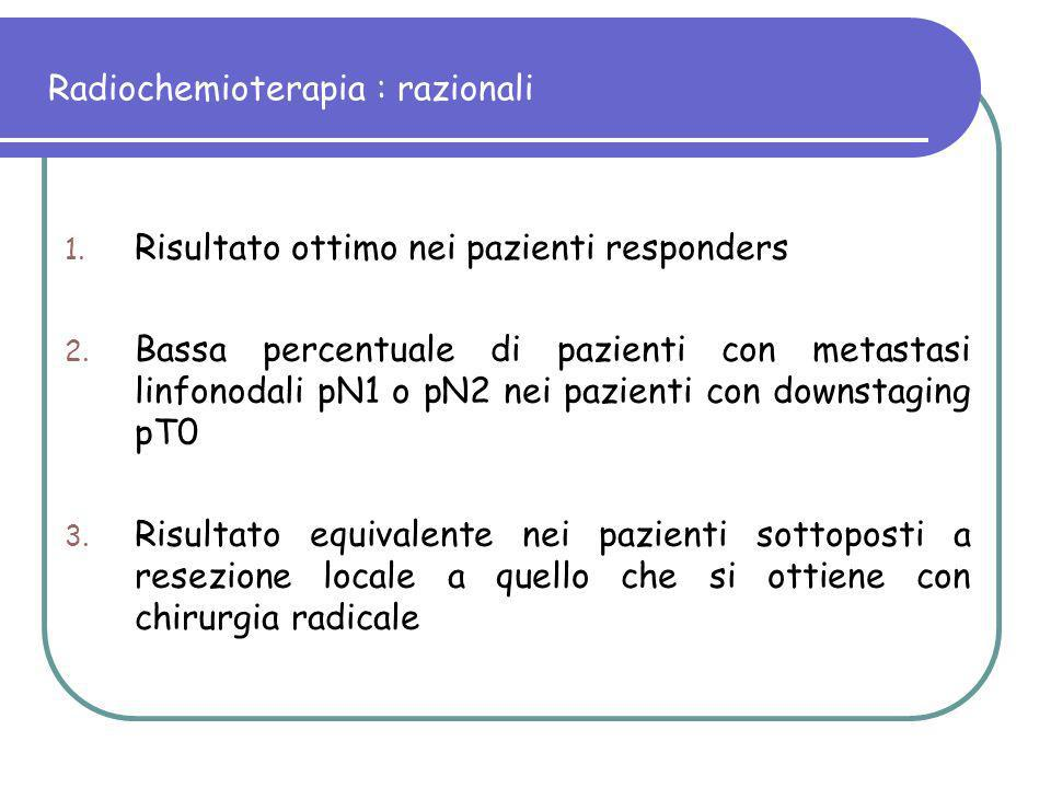 Radiochemioterapia : razionali