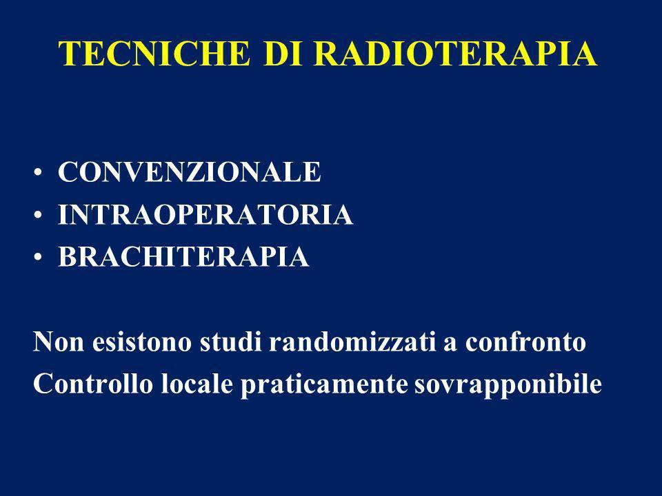TECNICHE DI RADIOTERAPIA