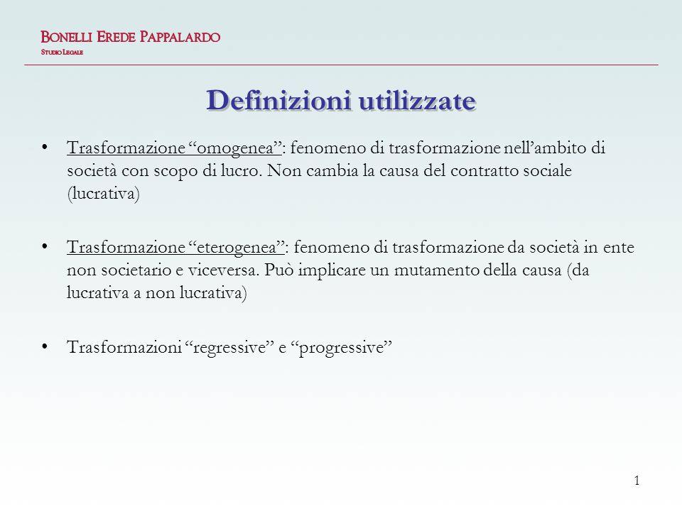 Definizioni utilizzate