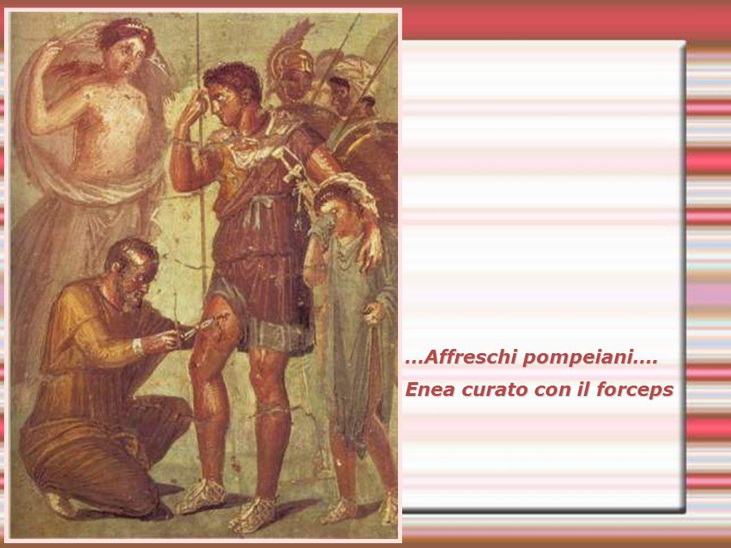 …Affreschi pompeiani….