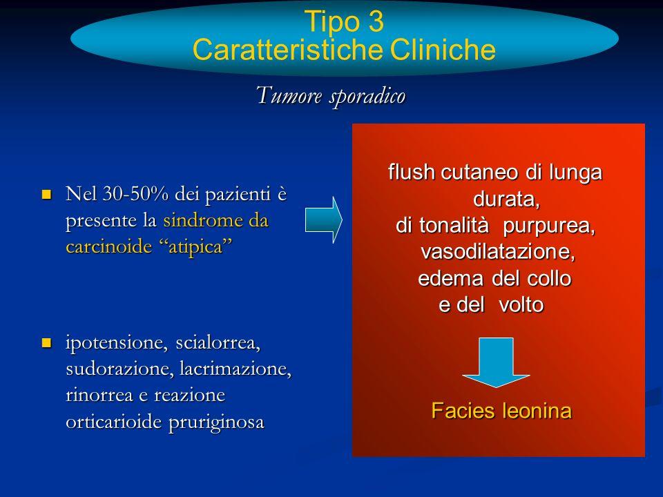 Tipo 3 Caratteristiche Cliniche