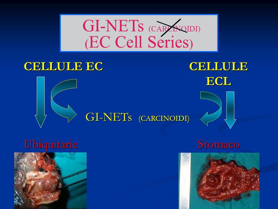 GI-NETs (CARCINOIDI) (EC Cell Series) CELLULE EC CELLULE ECL