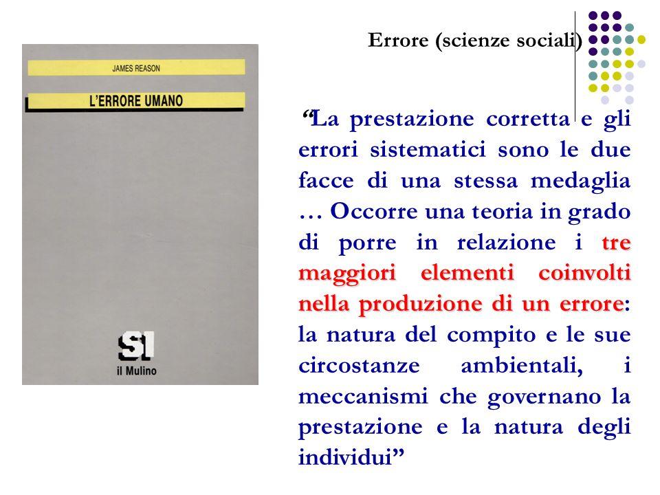 Errore (scienze sociali)