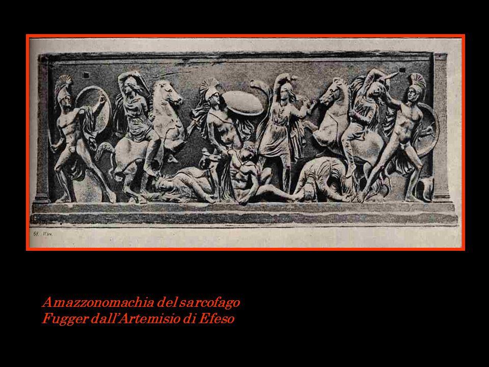 Amazzonomachia del sarcofago Fugger dall'Artemisio di Efeso