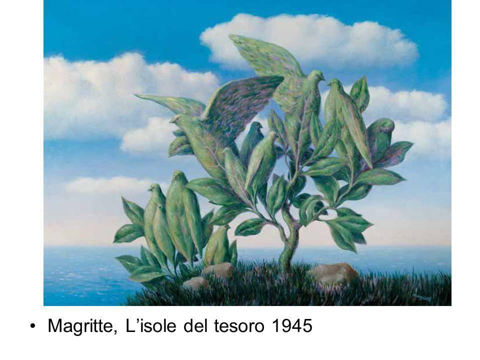 Magritte, L'isole del tesoro 1945