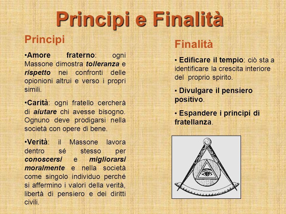 Principi e Finalità Principi Finalità