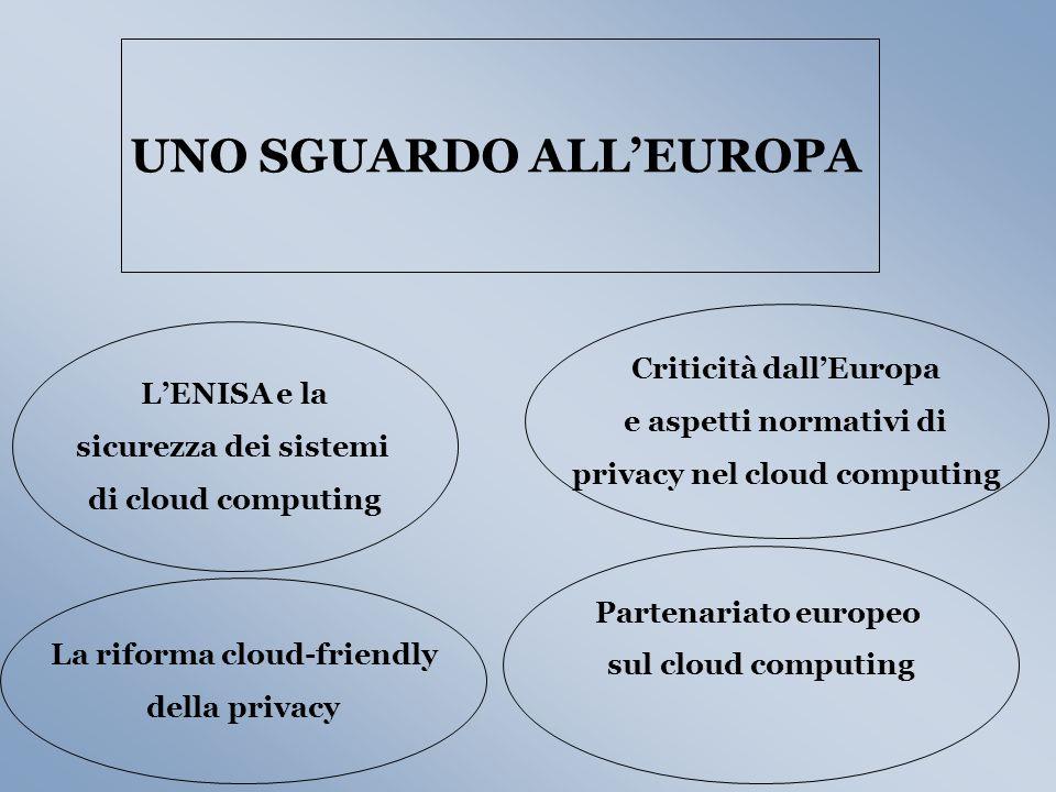 UNO SGUARDO ALL'EUROPA