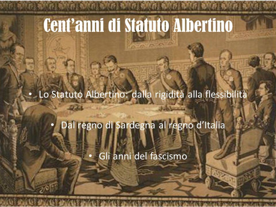 Cent'anni di Statuto Albertino