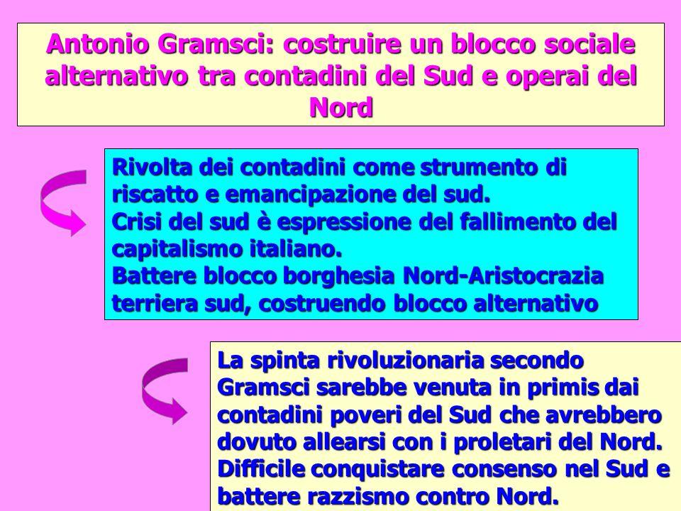 Antonio Gramsci: costruire un blocco sociale alternativo tra contadini del Sud e operai del Nord