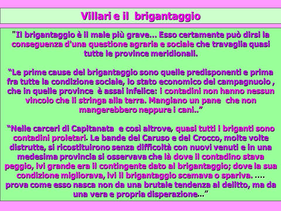 Villari e il brigantaggio