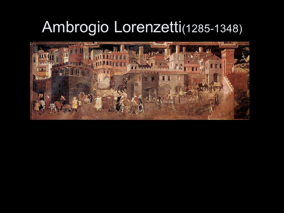 Ambrogio Lorenzetti(1285-1348)