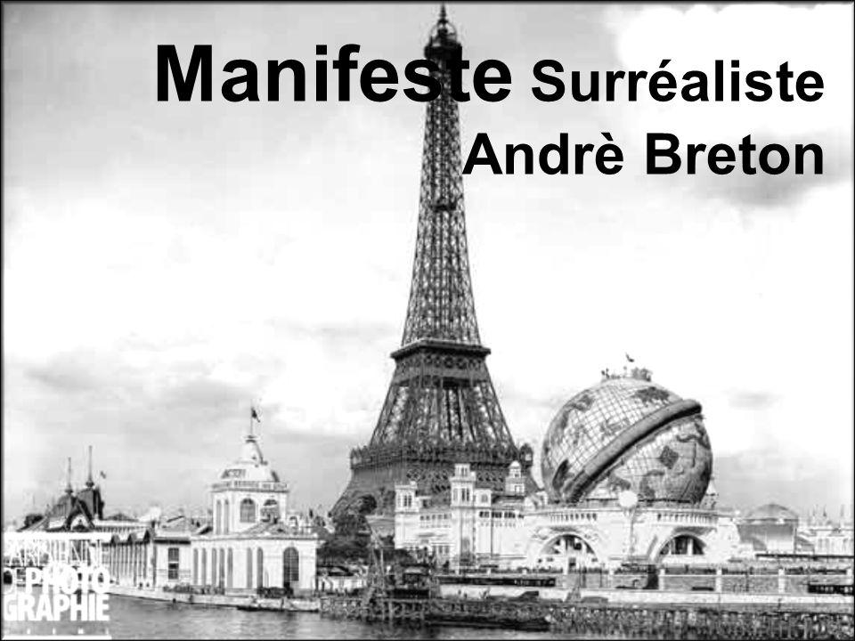Manifeste Surréaliste