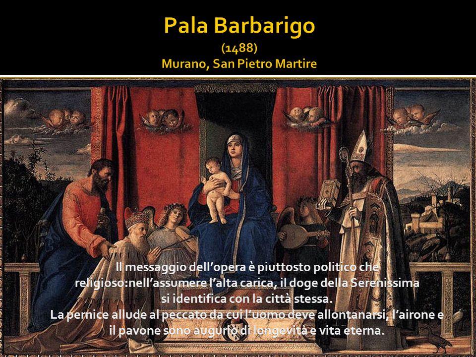 Pala Barbarigo (1488) Murano, San Pietro Martire