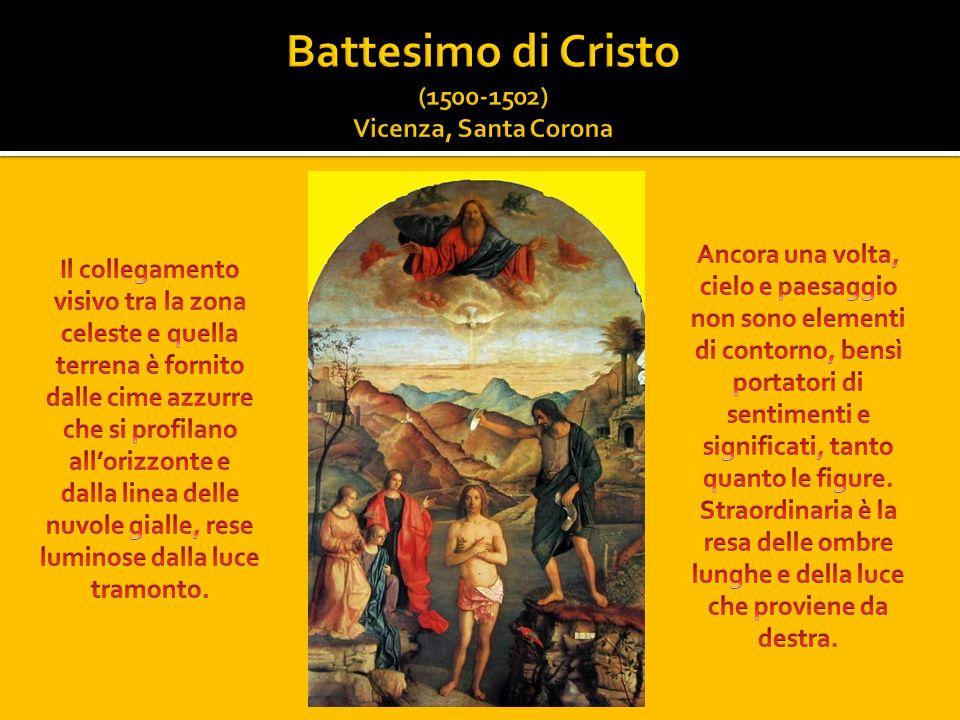 Battesimo di Cristo (1500-1502) Vicenza, Santa Corona