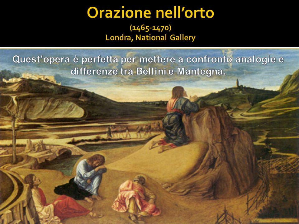 Orazione nell'orto (1465-1470) Londra, National Gallery